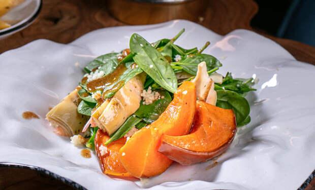 Режем тыкву на салат: готовим как в ресторане