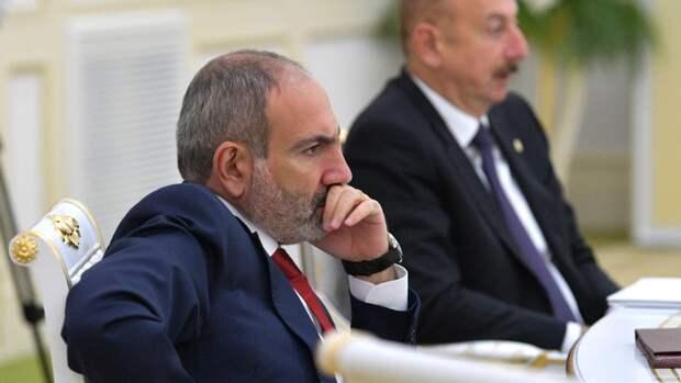 Пашинян обвинил Баку в провокации на границе Сюникской области