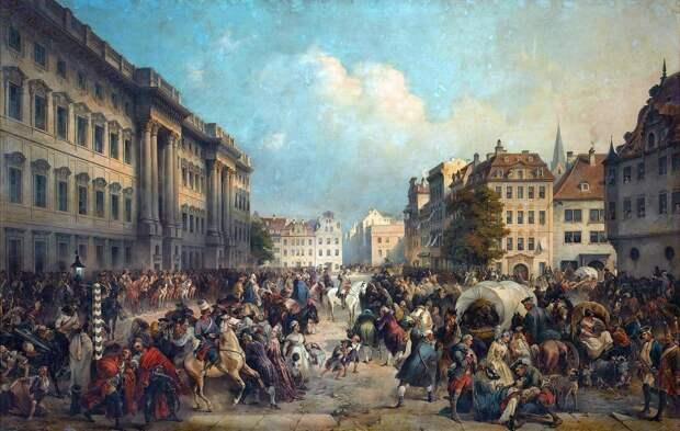 Не оставлять Берлин без присмотра, или Вековые русские традиции бить немцев на их территории