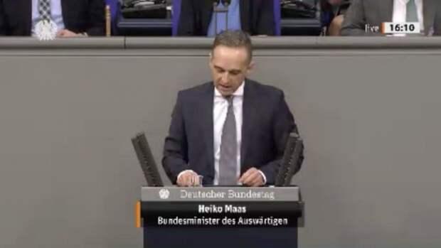 Немецкие министры отбиваются вбундестаге из-за «Северного потока-2»