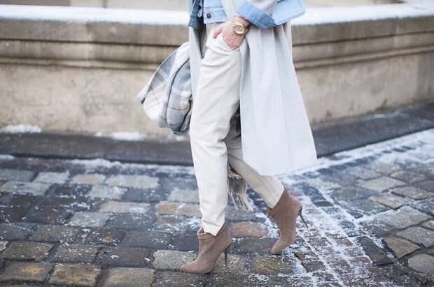 Кожаные брюки: тренды и возрастной стиль
