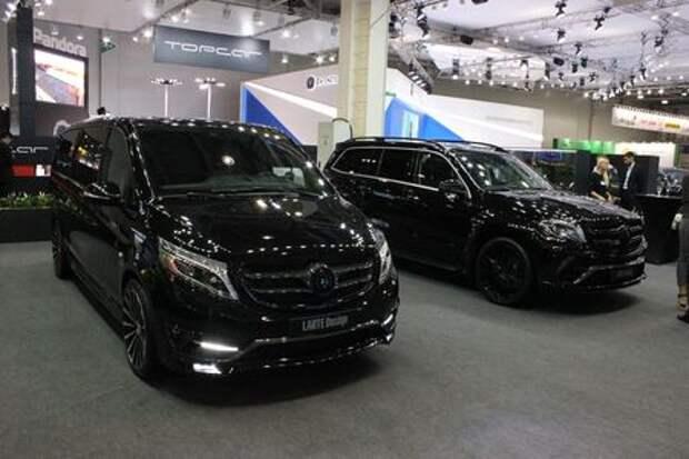 Черные кристаллы: Mercedes-Benz с темной стороны