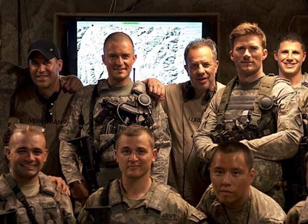 Орландо Блум и Скотт Иствуд воюют с афганскими боевиками