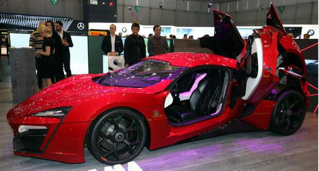 Трюковой автомобиль Lykan HyperSport из фильма Форсаж 7 выставлен на аукцион