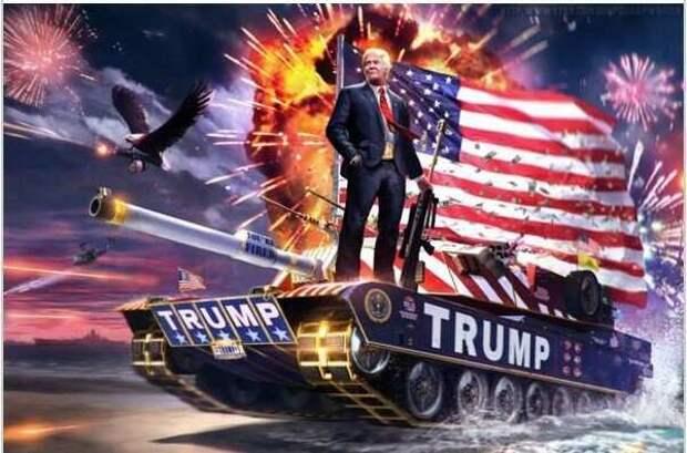 Трамп планирует «навести суету» по всей Америке