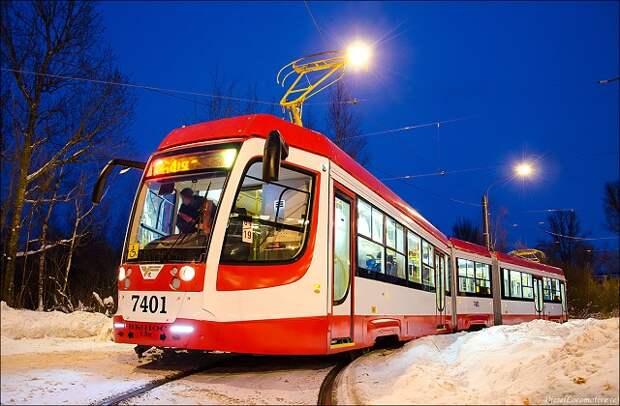 В этом году Краснодар получит еще 33 новых трамвая