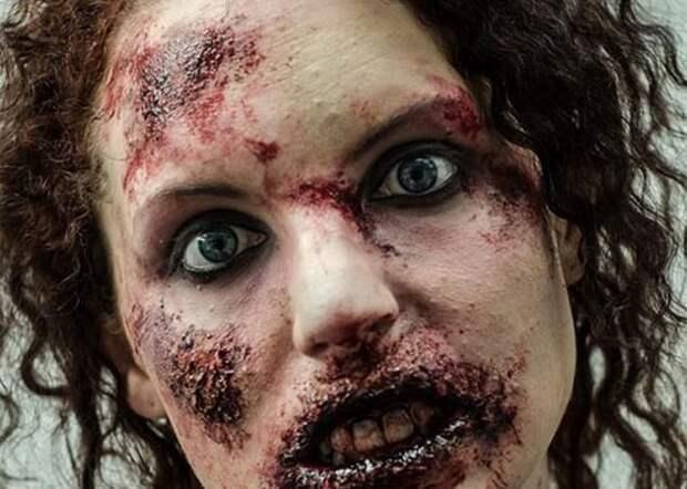 Макияж на Хеллоуин: 10 прекрасных ужасных идей