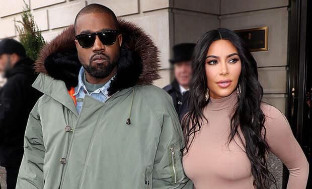 CМИ: Канье Уэст переедет в Лондон после развода с Ким Кардашьян