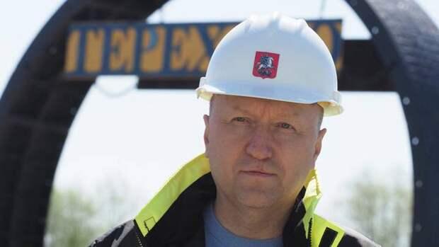 Андрей Бочкарев сообщил о начале облицовки пассажирских зон на станциях южного участка БКЛ