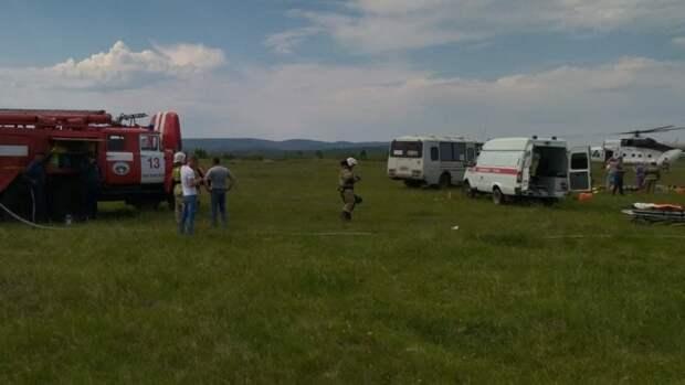 После крушения самолета в Кузбассе возбудили уголовное дело