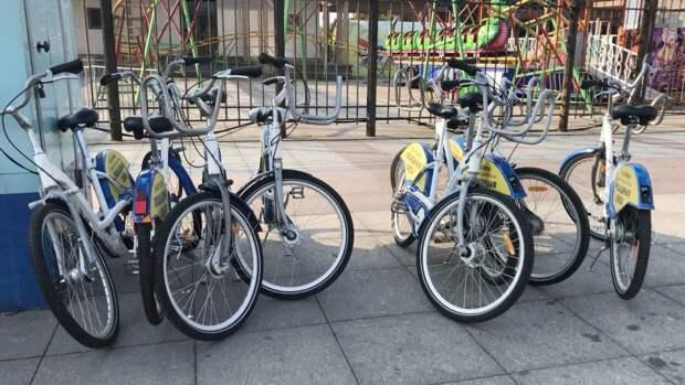 Точки велопроката начали работать в 29 городских округах Подмосковья