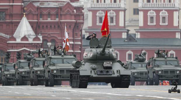 В Москве проходит парад Победы — хроника - Газета.Ru