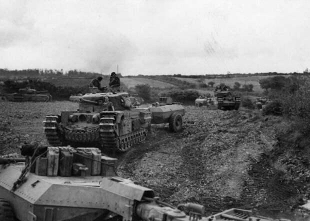 Другой ленд-лиз (продолжение). Гвардеец, но английский, Черчилль, но не Уинстон ленд-лиз, страницы истории, тяжёлый танк MK-IV «Черчилль»