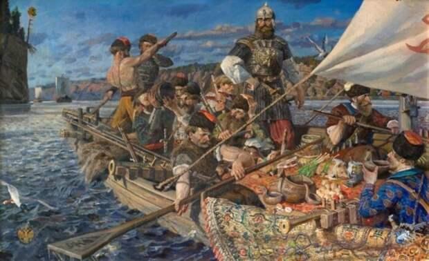 Ермак и его казаки