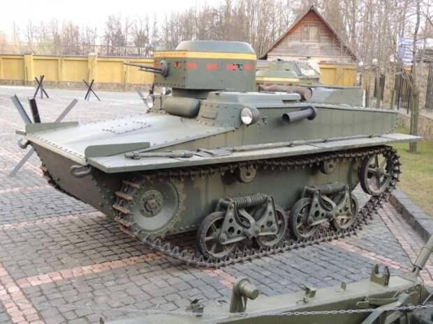 Плавающий танк. /Фото: livejournal.com.