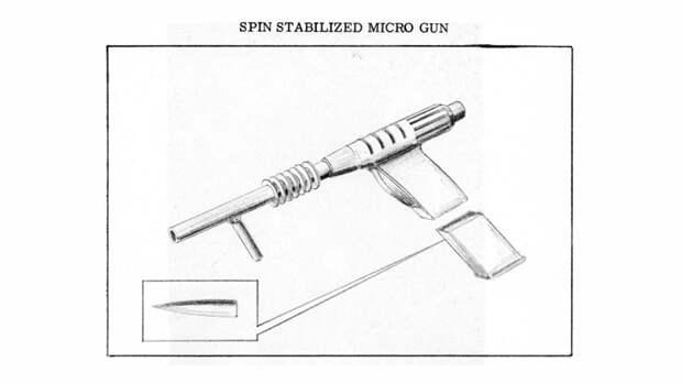 Вместе с текстом авторы доклада приложили к документу концепт-рисунки лунного оружия (чтобы «стимулировать творческую мысль»), и смотрятся они… поистине угрожающе
