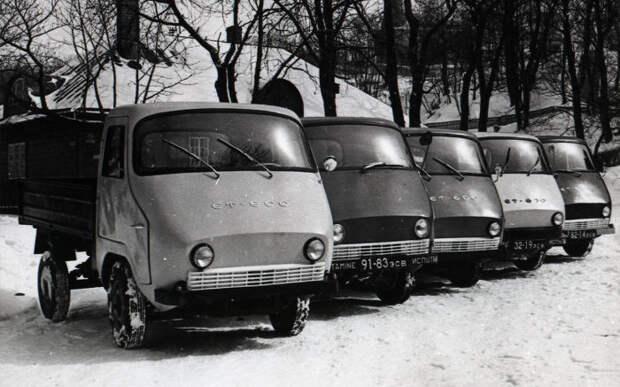 Дешевле «Запорожца»: народный советский грузовичок ЭТ-600