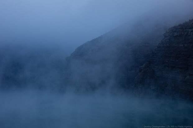 Прогулка по плотине на реке Сулак