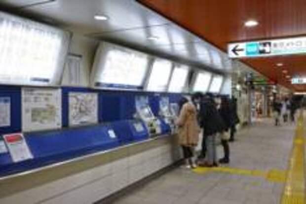 Как не заблудиться в Токийском метро