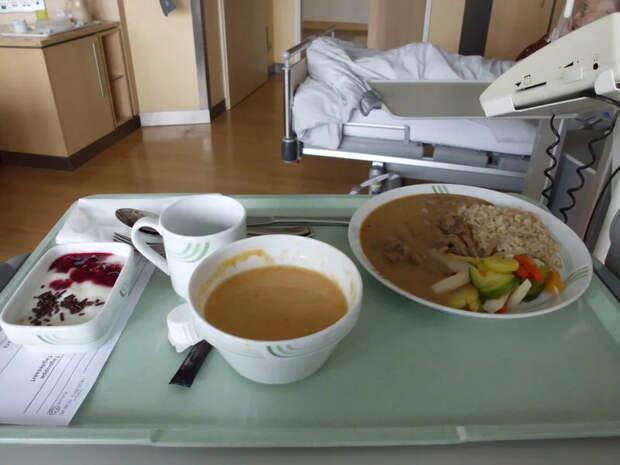 Страшное больничное питание Мордора - кажется, я растолстел...