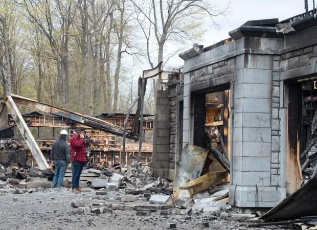 В Канаде из-за поджога сгорел дом основателя PornHub
