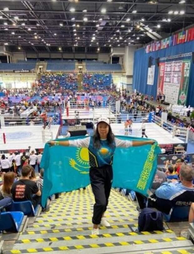 Спортсменка из Толебийского района стала бронзовым призером Кубка мира по кикбоксингу