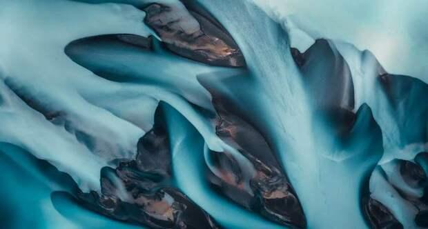 Пейзажи Исландии на аэрофотоснимках Яна Эрика Вайдера