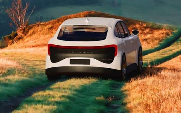 В Москве представили электрокар Monarch Concept S — сам он приехать не смог
