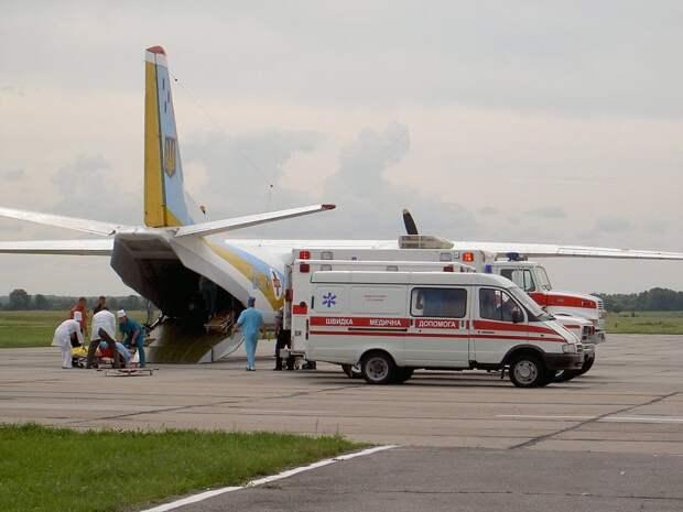 25 человек погибли при крушении самолета Ан-26 на Украине