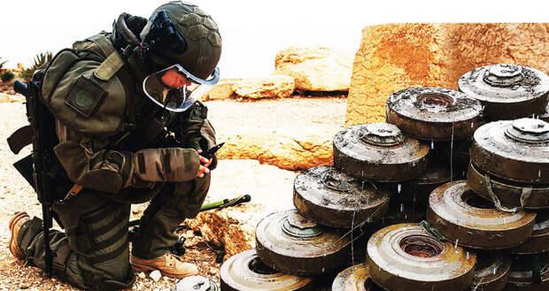 Проверено: мины есть