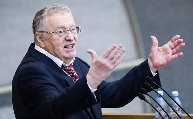 Владимир Вольфович последнее время выдаёт на-гора нетривиальные идеи