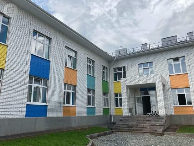 Два детских сада достроят в Ижевске в 2020 году