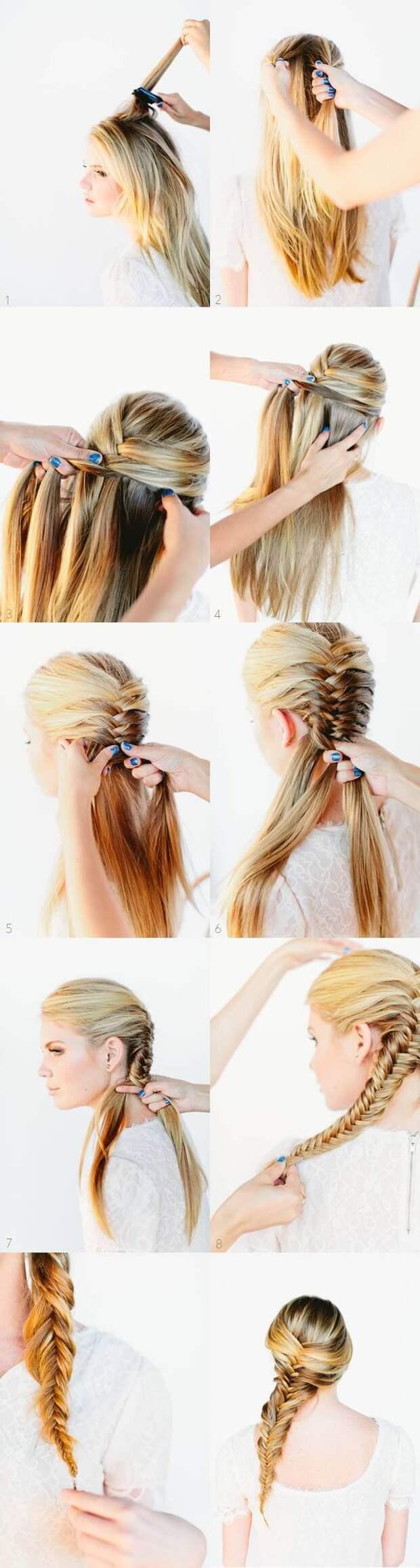 Простая укладка на каждый день: 10 вариантов для любых волос