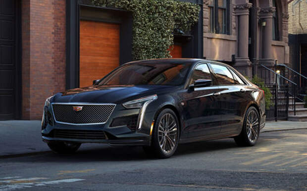 Как в Америке: российские цены на обновленный Cadillac CT6