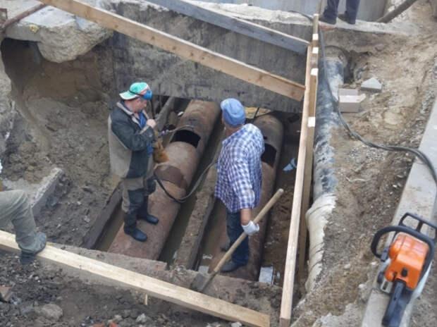 Центр Краснодара на пять дней останется без горячей воды