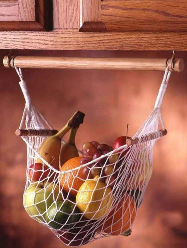 Гамак для фруктов.