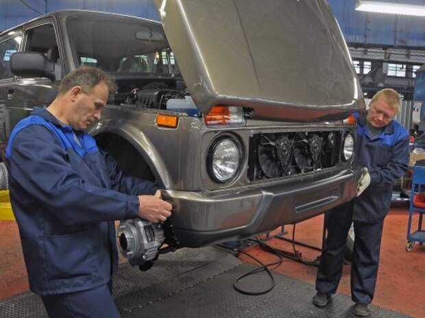 АВТОВАЗ запустил производство Lada 4х4 Urban