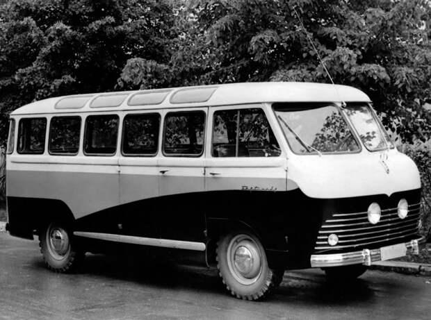 РАФ: необычные разработки Рижской автобусной фабрики СССР, авто, факты