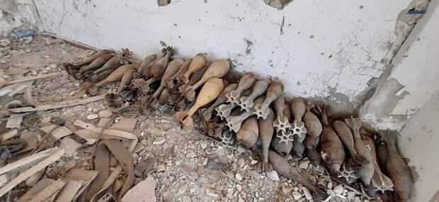 Террористов в Сирии выкуривают из древних катакомб