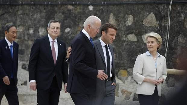 Страны G7 намерены поддерживать Украину