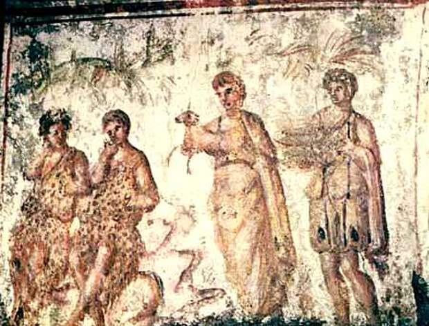Катакомбы Рима (итал. Catacombe di Roma) — сеть античных катакомб, использовавшихся как места погребений, по большей части в период раннего христианства.