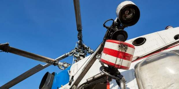 Вертолеты МАЦ начнут мониторинг пожароопасной обстановки в Москве с 1 мая Фото: М. Денисов mos.ru