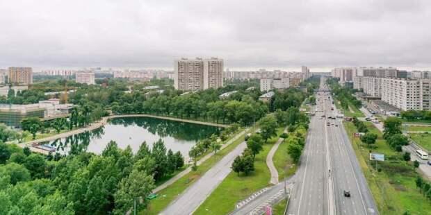 В 2021 году благоустроят более 100 небольших парков, скверов и жилых территорий – Собянин