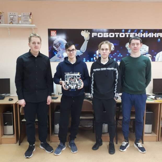 Школьник из Кстова занял второе место на «Робофесте»