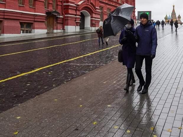 Москвичей предупредили о дождях и похолодании на следующей неделе