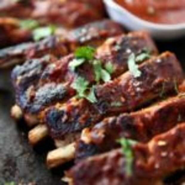 Вкуснее шашлыка! Свиные ребрышки в духовке под вкусным маринадом
