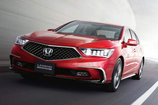 Honda отправит в отставку сразу три модели