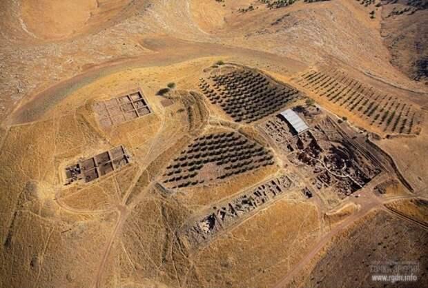 Гебекли Тепе, вид сверху, фото