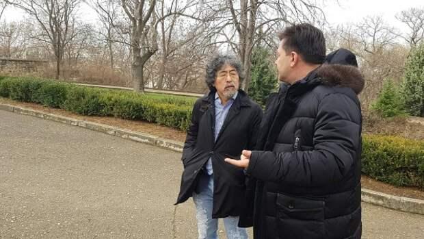Интервью для Японии