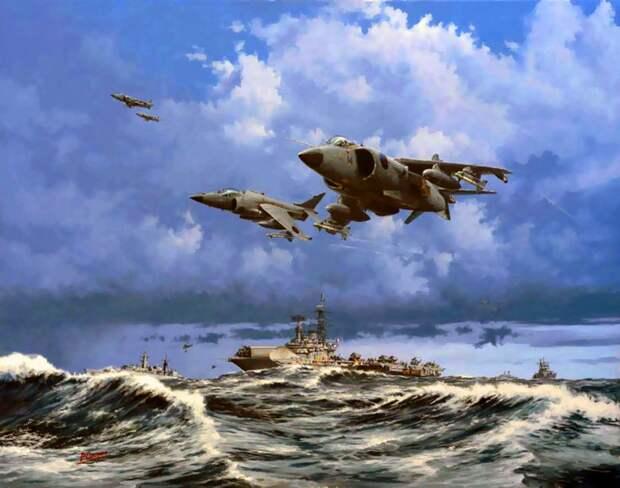 Авиация в Фолклендской войне